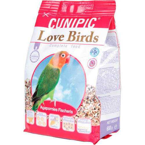 Cunipic Superpremium Complete food for Lovebirds