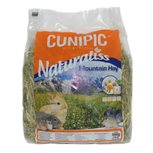 Cunipic Naturaliss Mountain heno multifloral para roedores