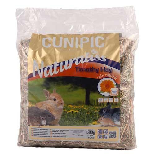 Cunipic Naturaliss Timothy heno con caléndula para roedores