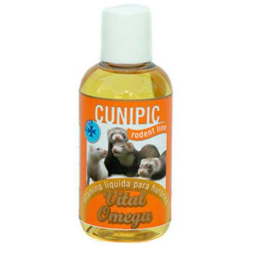 Cunipic Vital Omega suplemento vitamínico para hurones