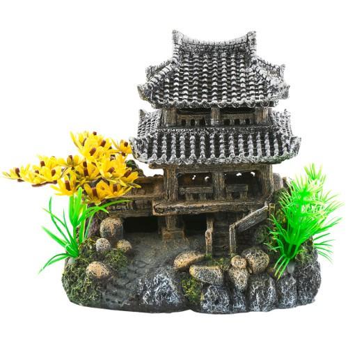 Decoraci n para acuarios templo akihito tiendanimal - Decoracion para acuarios ...