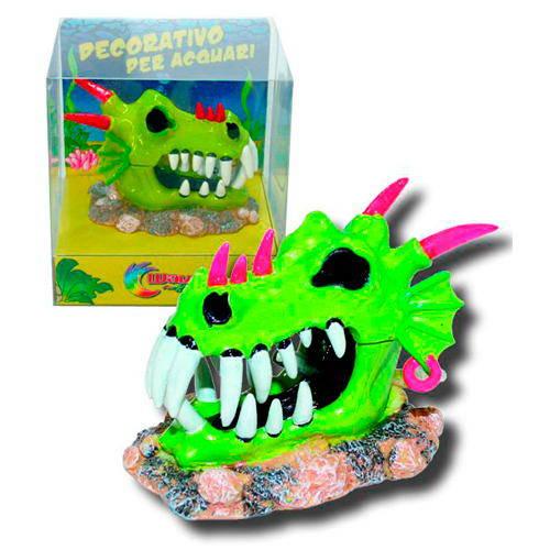 Figura decorativa móvil Cabeza de dragón