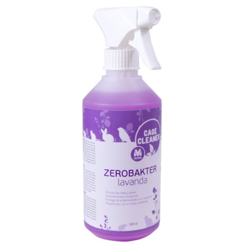 Sanitizer cages and accessories Zerobakter lavender
