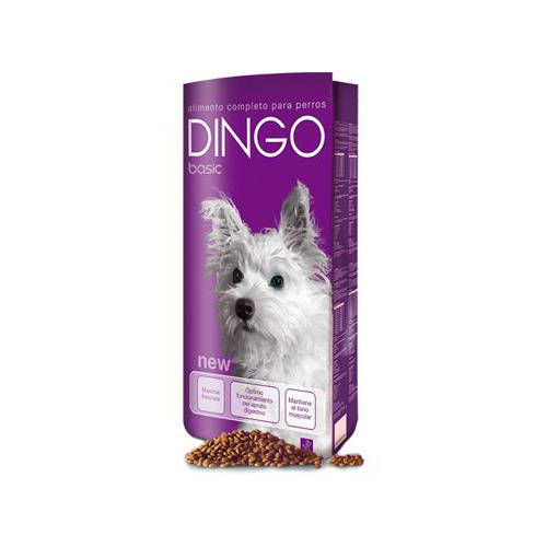 Dingo Basic pienso para perros seniors u obesos