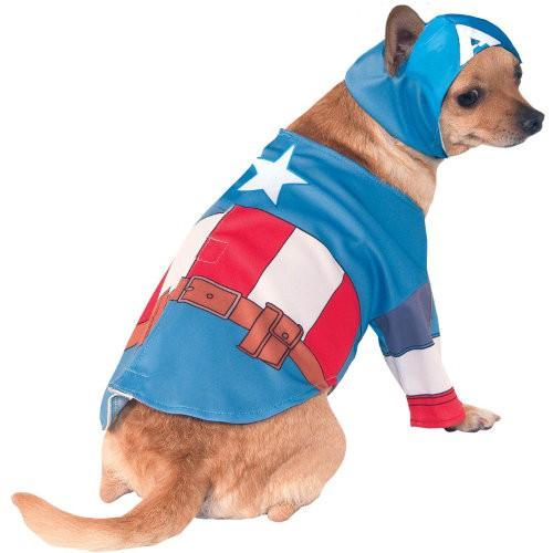 Disfraz para perros Capitán América