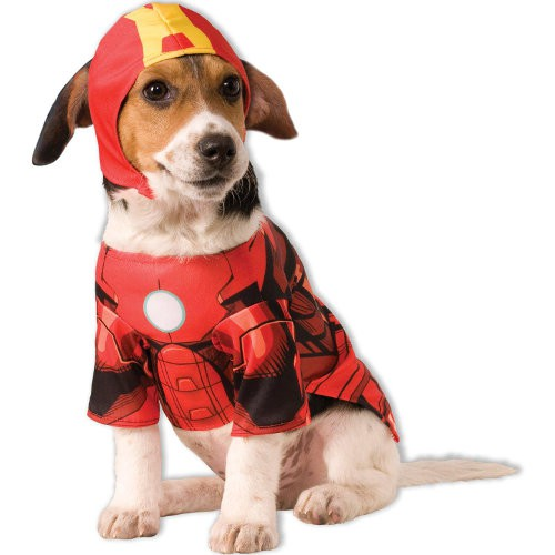 Disfraz para perros Iron Man