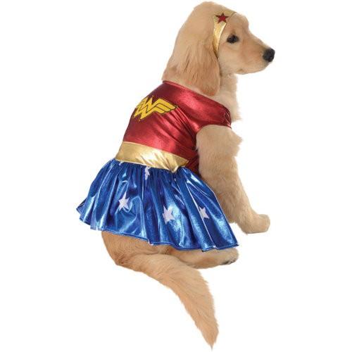 Disfraz para perros wonder woman tiendanimal for Estanque para perros