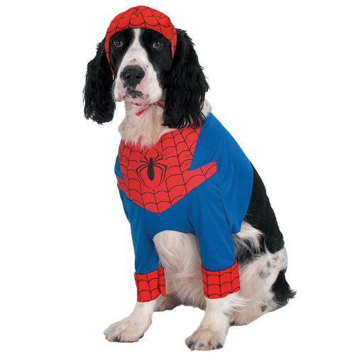 Disfraz de Spiderman para perros
