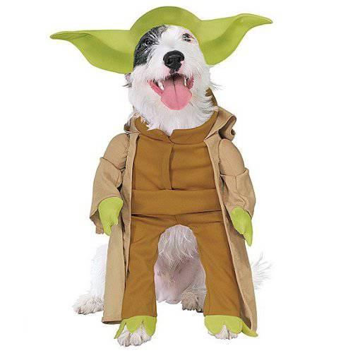 Star Wars Disfraz de Yoda para perros