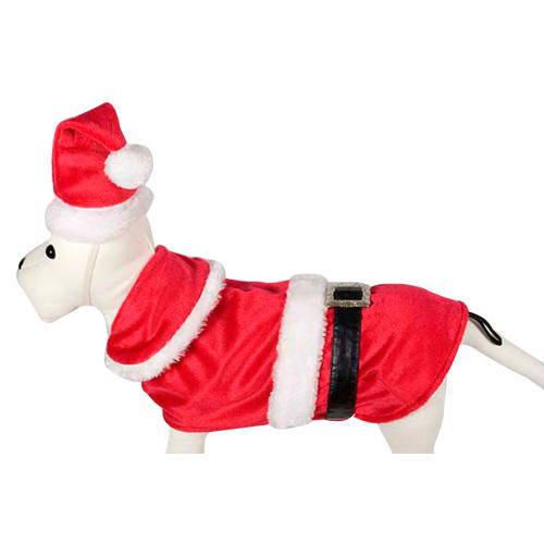 Disfraz para perros Papa Noel