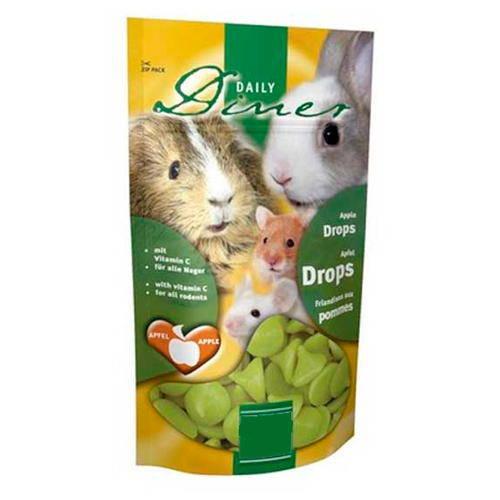 Drops de manzana para roedores