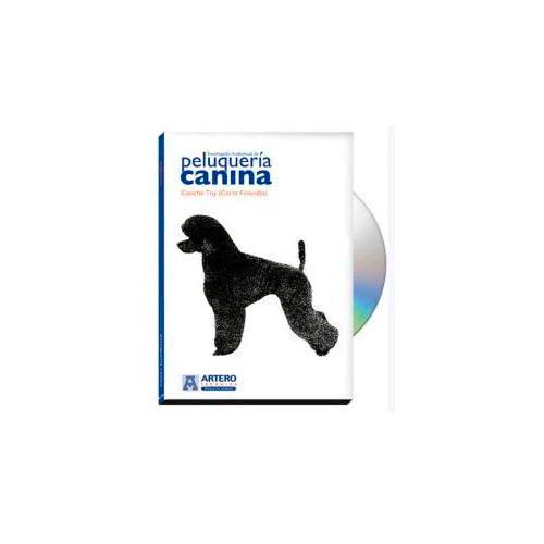 DVD Peluquería canina Caniche Toy (corte finlandés)