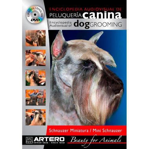 DVD Peluquería canina Schnauzer Miniatura