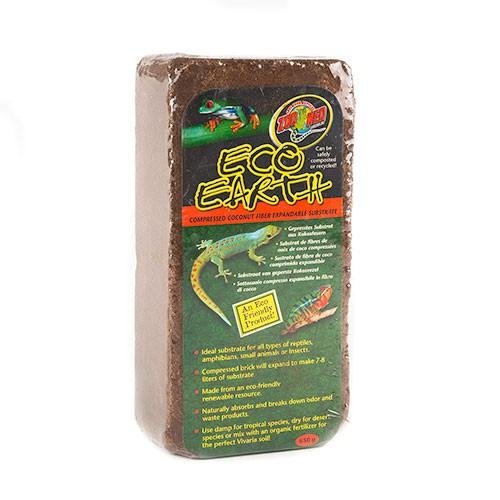 Sustrato comprimido de fibra de coco Eco earth Zoo Med