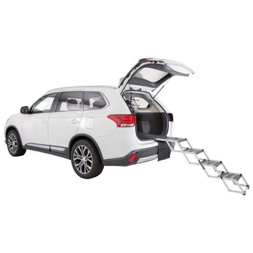 Escalera auxiliar plegable para coches