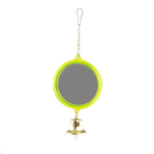Espejo doble de pl stico con campana peque o tiendanimal for Espejo redondo pequeno