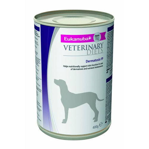 Eukanuba Dermatosis FP Formula canine Húmedo