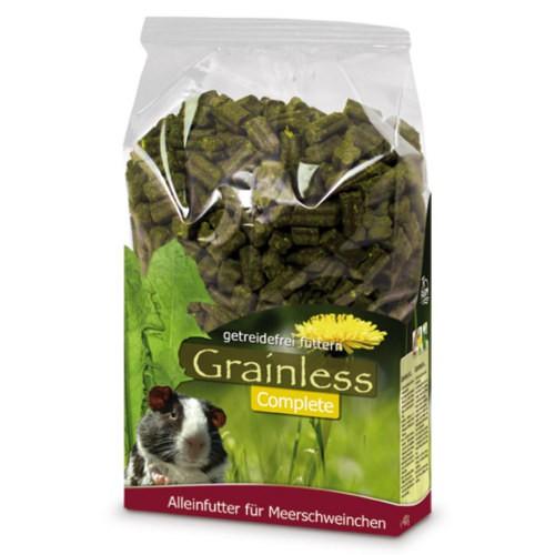 JR Farm Grainless Complete hierbas prensadas para cobayas