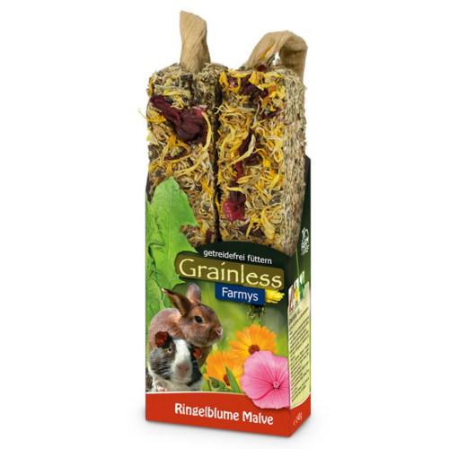JR Farm Grainless Farmys barritas con caléndula para roedores y conejos