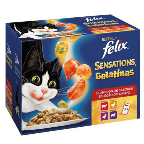 Felix Sensations Gelatinas con carnes selección de sabores