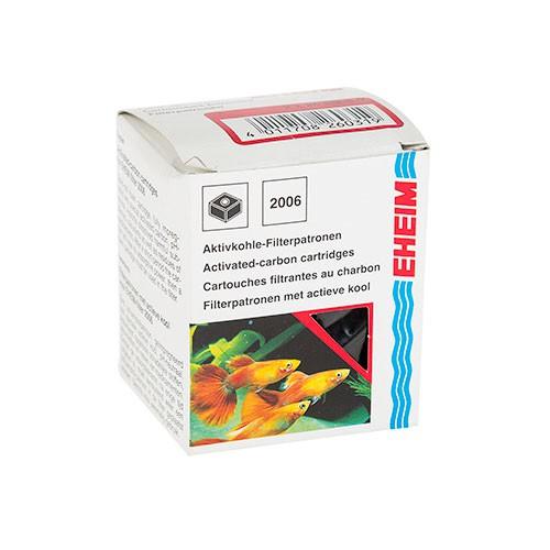 Cartucho de carbón activo de recambio para filtro Eheim Pick up