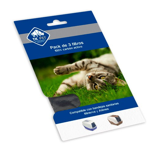TK-Pet Hera and Diana litter tray filters