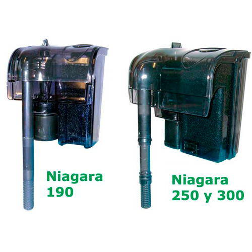 Filtros mochila Niagara