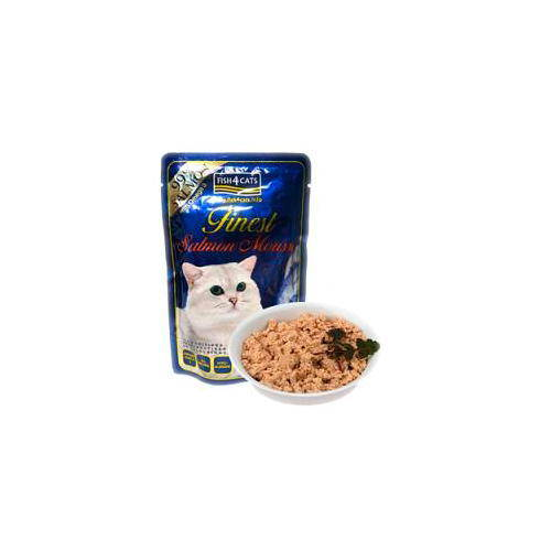 Fish4Cat Mousse de salmón para gatos