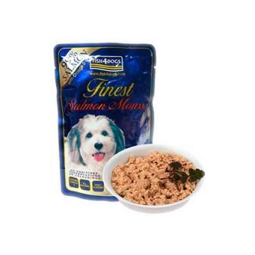 Fish4Dog Mousse de salmón hipoalergénica para perros