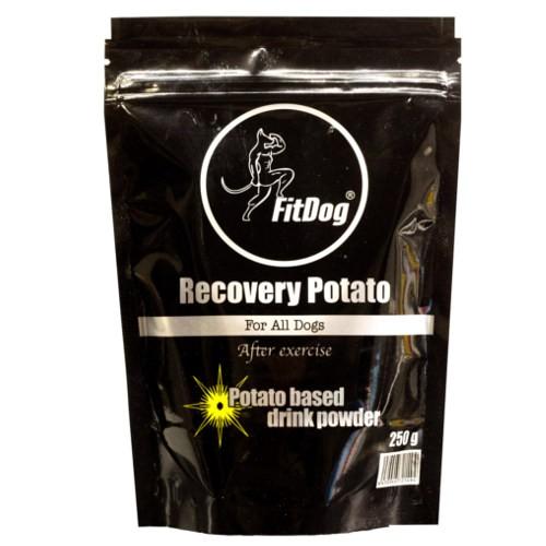 FitDog Recovery Potato bebida energética de recuperación para perros