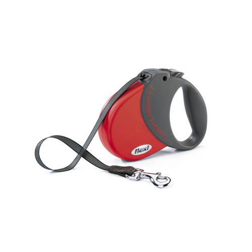 Flexi Comfort Compact correa extensible para perros Color Rojo