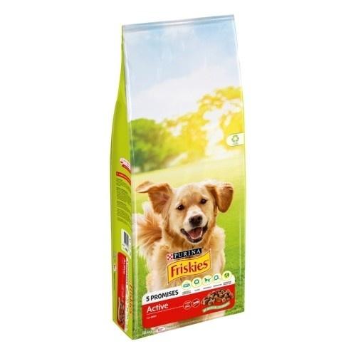 Friskies Adult Active Pienso para perros activos