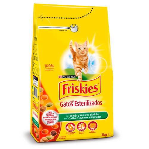 Friskies gato adulto esterilizado con Conejo y Verduras