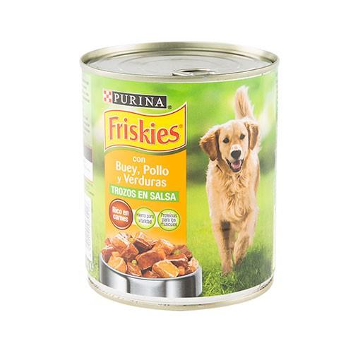 Friskies Buey Paté con trozos en salsa comida para perros