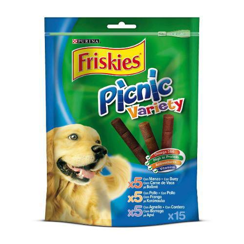 Friskies Picnic Variety Snack para perros