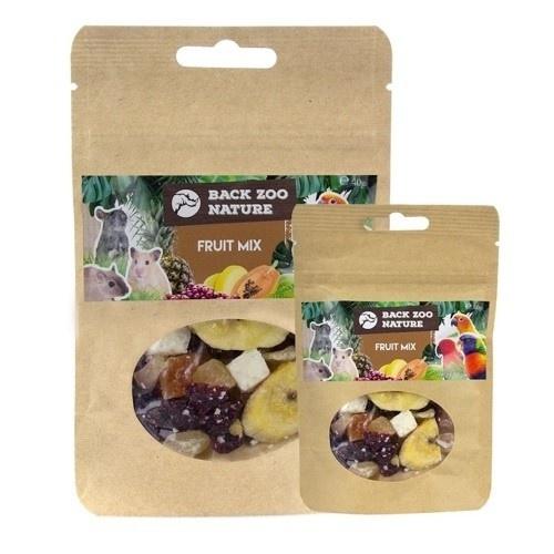 Mix de frutas deshidratadas para loros sabor Coco, Plátano, Papaya y Arándanos