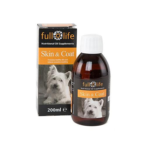 Fullolife aceite de pescado especial para la piel y el pelo