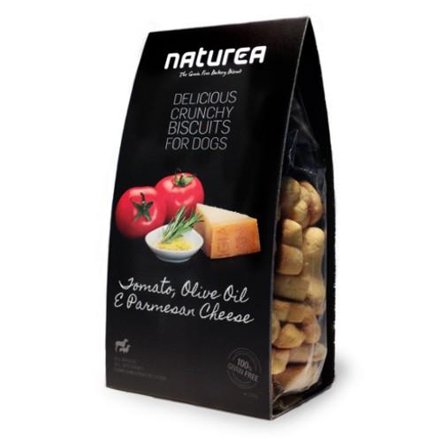 Galletas sin cereales para perros Naturea con tomate y queso