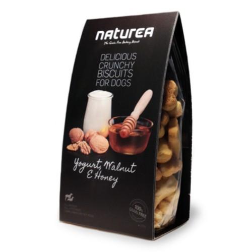 Galletas sin cereales para perros Naturea con yogurt y nueces