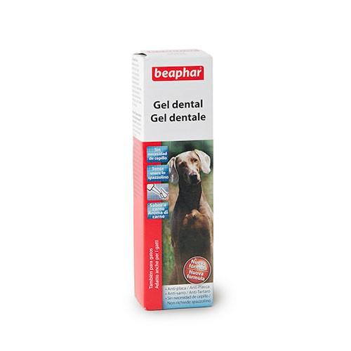 Gel dentífrico autolimpiante desinfectante para perros Beaphar
