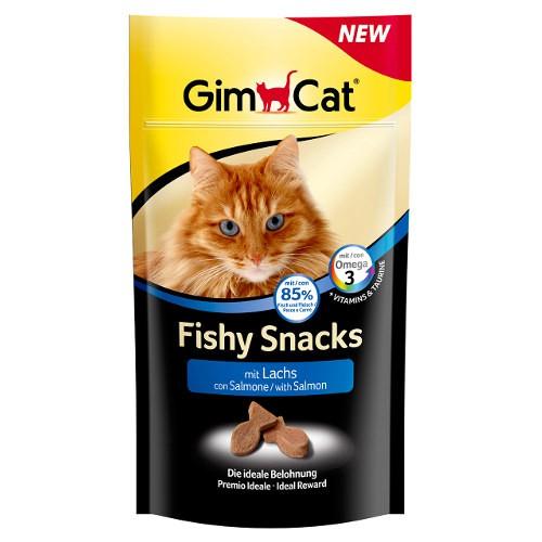 GimCat Fishy snacks para gatos con salmón