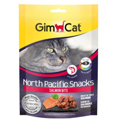 GimCat North Pacific bocaditos de salmón para gatos
