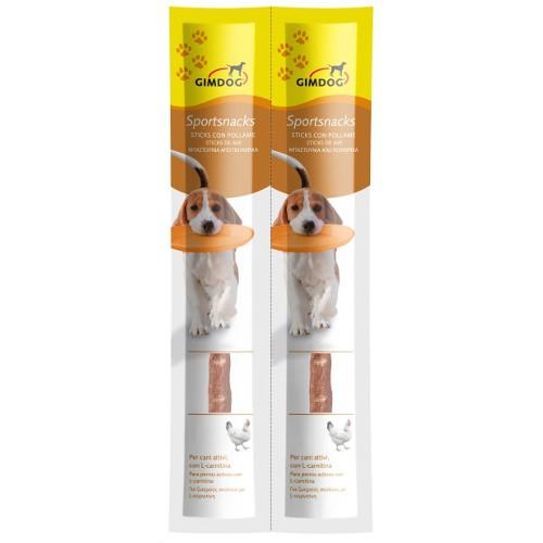 GimDog SportSnacks para perros sticks de ave