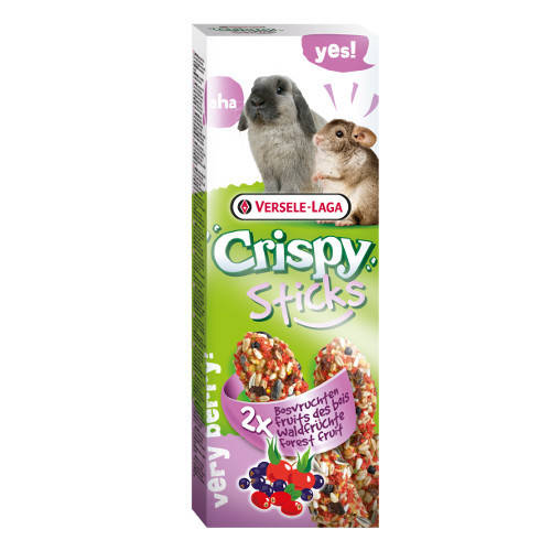 Golosinas para conejos y chinchillas Versele Laga Crispy Sticks frutas del bosque