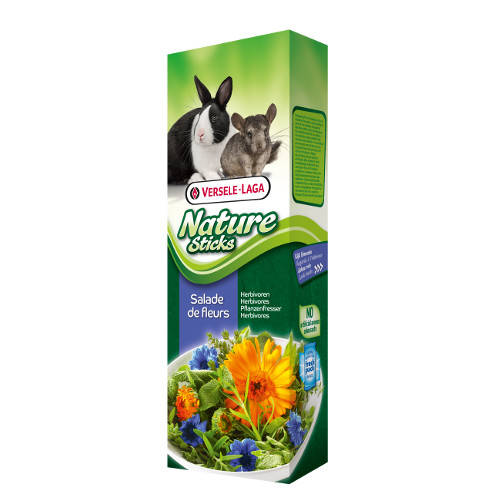 Golosinas para conejos y chinchillas Versele Laga Nature Sticks ensalada de flores