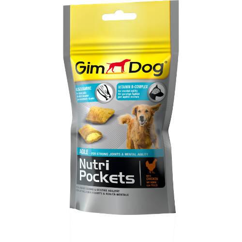 Golosinas para perros GimDog Nutri Pockets Agile pollo