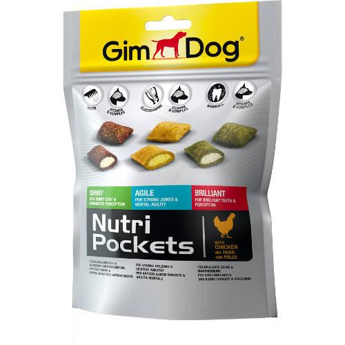 Golosinas para perros GimDog Nutri Pockets mixto