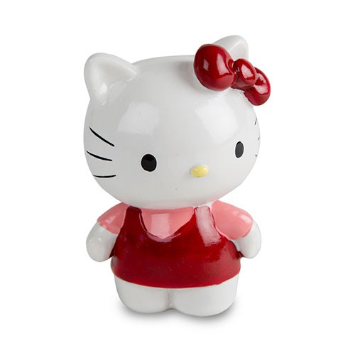 Hello Kitty Figura decorativa decoración acuarios Color Rojo