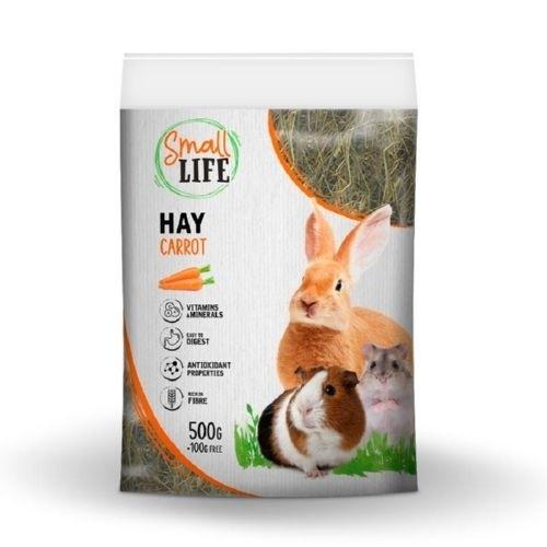 Heno para roedores Small Life sabor zanahoria