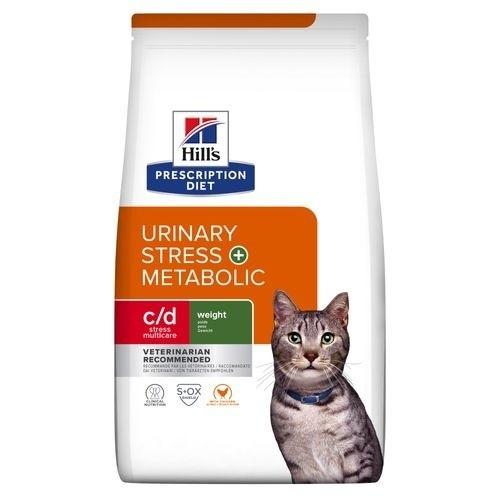 Hill´s Prescription Diet c/d Urinary Stress + Metabolic pienso para gatos